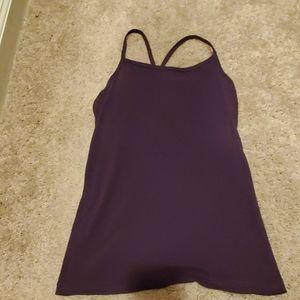 Nike dri fit tank top with built in bra